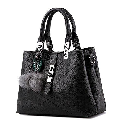 borsa-trendy-classico-dolce-signora-spalla-messenger-black