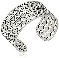 Lucky Brand Open Work Silver Cuff Bra…