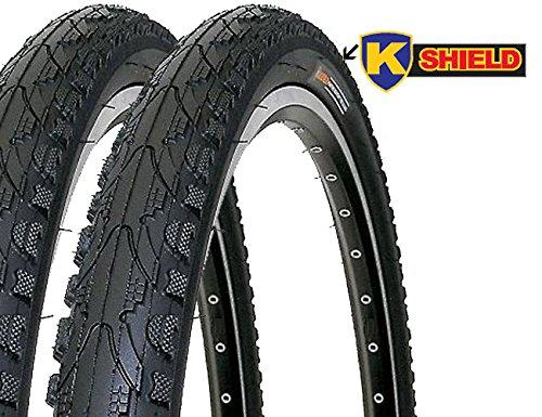 2 x Fahrradreifen Kenda Pannensicher 26 Zoll 26×1.75 47-559 K935 K-Shield inklusive 2 x 26″ Schlauch mit Dunlopventil