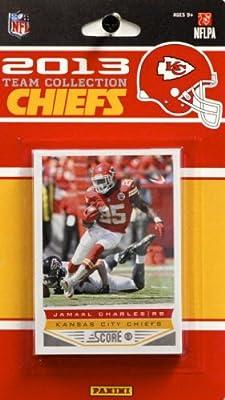 NFL Kansas City Chiefs Licensed 2013 Score Team Set