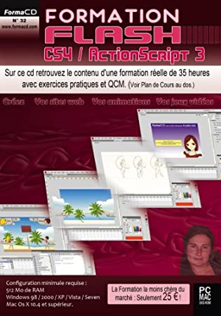 Formation Flash CS4, ActionScript 3