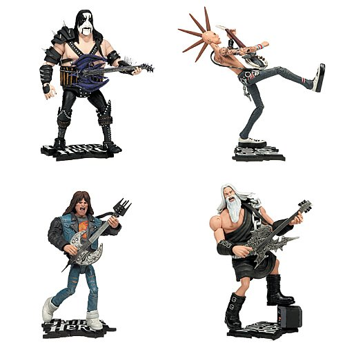 Buy Low Price McFarlane GUITAR HERO SERIES 1 Set of 4 Figure (B001BSNWPU)