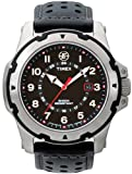 Timex Expedition Fullsize Black Leather Strap Watch - T49625PF
