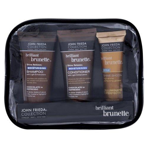John Frieda Brilliant Brunette Travel Bag