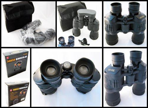 New Binoculars 30X50 Ruby Coated Lens 30 X 50 Vision !!