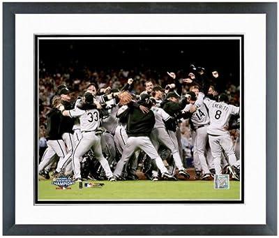 "Chicago White Sox 2005 World Series Celebration Photo 12.5"" x 15.5"" Framed"
