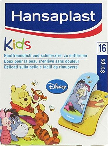 Hansaplast Junior Winnie Puuh Strips, 16 Pflaster (5er Pack)