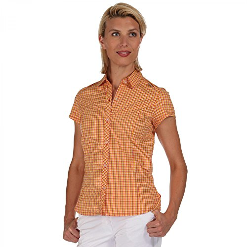 Regatta-Honshu-Shirt-Women-coral-blush-check