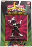 "Mighty Morphin Power Rangers Black Ranger 3"" Figure"