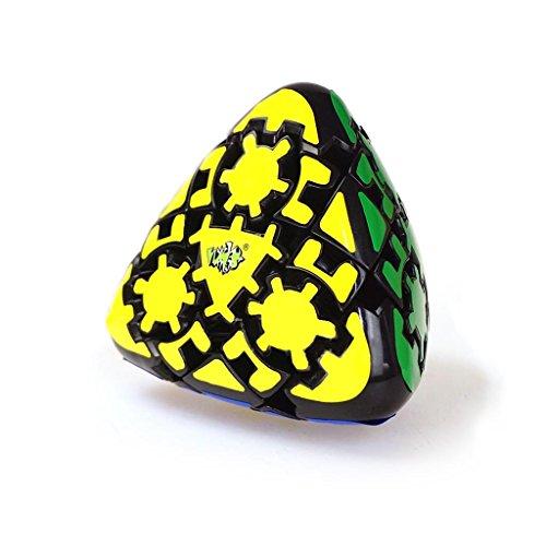 la-tartelette-3x3-gear-triangle-pyramid-pyraminx-dumpling-shape-magic-puzzle-cube-black