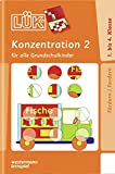 LÜK: Konzentration 2: für alle Grundschulkinder