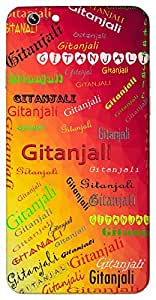 Gitanjali (Popular Girl Name) Name & Sign Printed All over customize & Personalized!! Protective back cover for your Smart Phone : Samsung Galaxy S4mini / i9190