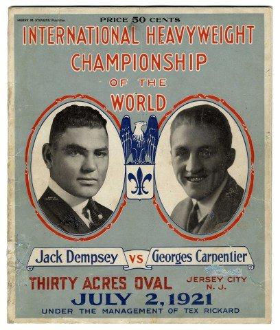 jack-dempsey-vs-georges-carpentier1921-reproduccion-de-40-x-30-cm-gran-evasion-promo-cajas