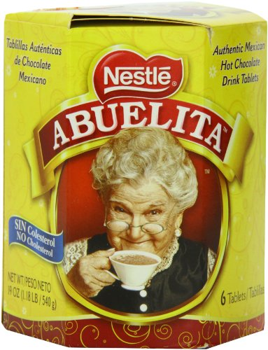 Nestle Mexican Chocolate Abuelita Drink Mix, 6 Tabs in 19 Ounce ...
