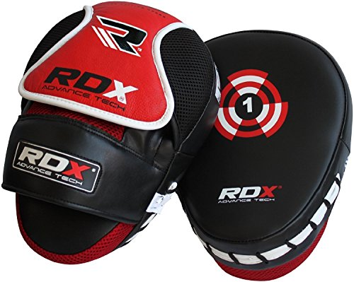 RDX Boxing Hook & Jab Pads MMA Thai Strike Kick Shield Training Punching Focus Mitts Target (Boxing Training Target compare prices)