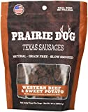 Prairie Dog Pet Products Texas Sausages, 16 oz., Western Beef and Sweet Potato