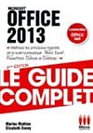GUIDE COMPLET OFFICE 2013: EXCEL, WOR...