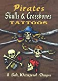 img - for Pirate Skulls & Crossbones Tattoos (Dover Tattoos) book / textbook / text book