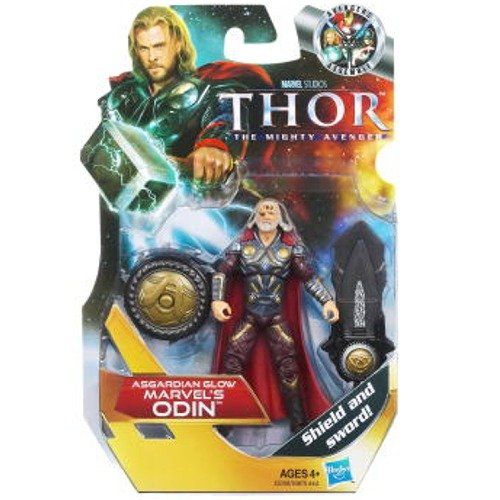 Thor Movie 4 Inch Series 3 Action Figure All King Odin