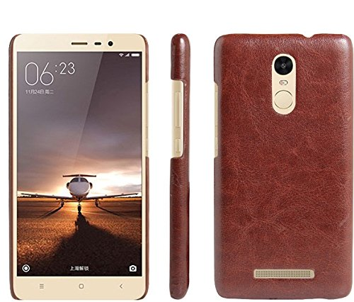 new style 843b0 94bc1 Case For XIAOMI REDMI NOTE 3, Fairbunny Branded Luxury cowboy leather Back  Cover Case For XIAOMI REDMI NOTE 3 - BROWN