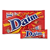 Daim Crunchy Almond Milk Chocolate Bar 28g 4 Pack - 6 Packs