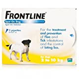 Frontline Small Dog Spot On 3 Pipettes 2- 10kg (Fipronil 10% w/v)