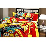 Reversible Poly Cotton 3D Cartoon Print AC Comfort/Blanket/Quilt (Single Bed)