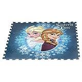 ColorBaby - Alfombra puzzle goma eva de frozen, 9 piezas, 93 x 93 cm (48054)