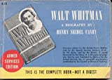 img - for Walt Whitman: An American Biography book / textbook / text book