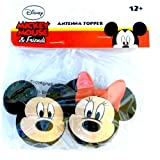 Disney Mickey Mouse and Minnie Mouse Antenna Topper Set