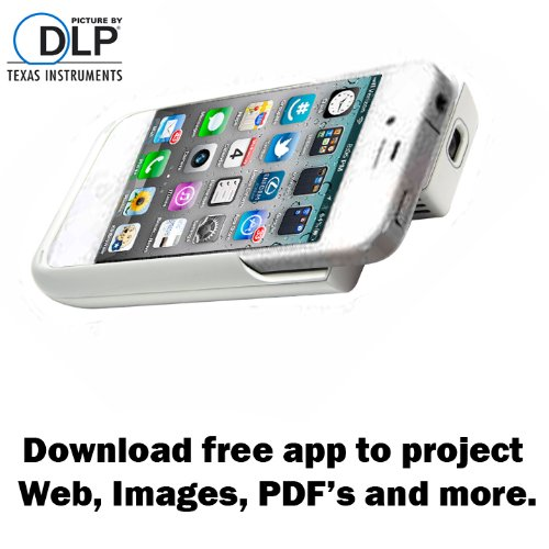 black friday iphone 4 4s dlp pocket projector 2100mah