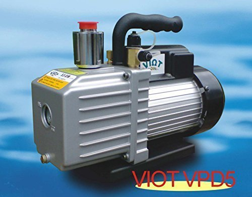 Rotary Vane Deep Vacuum Pump 2-Stage High Performance 5.5CFM: MFL Bagging Epoxy Infusion Infiltration Workshop Refrigeration HVAC Evacuation Serivce Plumbing Repair (Infusion Resin compare prices)