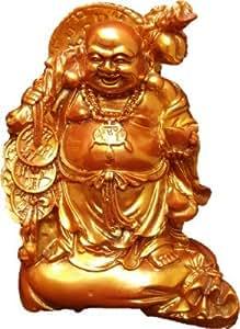 JaipurCrafts Feng Shui Laughing Buddha Showpiece 17.78 cm