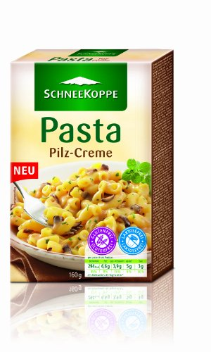 Schneekoppe Pasta Pilz-Creme, 4er Pack (4 x 160 g)