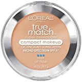 L'Oreal Paris True Match Super-Blendable Compact Makeup, SPF 17, Classic Beige, 0.30 Ounce