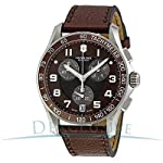 Swiss Army Chronograph Classic Brown Dial Men's Watch - V241498 from Victorinox