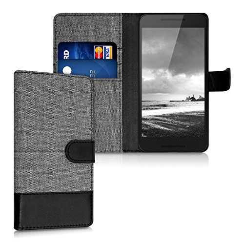 kwmobile-wallet-case-canvas-cover-for-lg-google-nexus-5x-flip-case-with-card-slot-and-stand-in-grey-