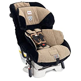 Britax Boulevard 65 CS Click & Safe Convertible Car Seat, Berkshire Tan