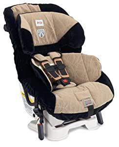 Britax Boulevard 65 CS Click & Safe Convertible Car Seat, Berkshire Tan (Prior Model)