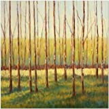 SMART ART - 'Grove of Trees' by Libby Smart - Fine Art Print 20x20 inches