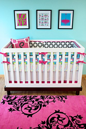 Modified Tot Crib Bedding, South Beach