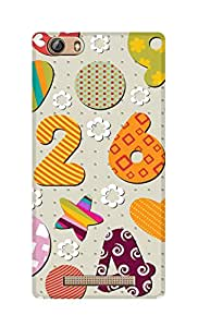 SWAG my CASE Printed Back Cover for Gionee Marathon M5 Lite