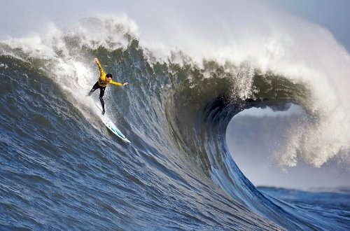 Buy Mavericks Big Wave Surfing Surf Photo Extreme Sports Photos 8x12 by Perfect Posters and Pics