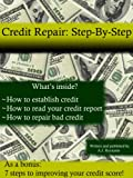 51Hb87fvq7L. SL160  Credit Repair: Step By Step