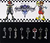 Kingdom Hearts II Keyblade Pendant Necklace Set 2 Sora