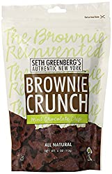 Seth Greenberg's Authentic New York Brownie Crunch Mint Chocolate Chip, 4-Ounce