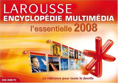 Larousse encyclopédie Multimédia l'Essentielle 2008