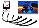 51HbAKpqhXL. SL160  4pc Blue LED Golf Cart Underbody Underglow Light Kit