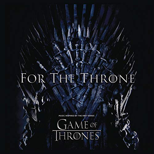 CD : VARIOUS - For The Throne: Music Inspired By Game Of Thrones