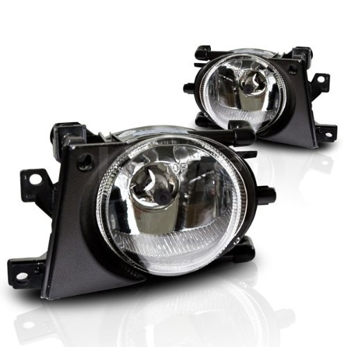 WinJet Performance Lighting 01-03 BMW E39 5 Series OEM Fog Lights - (Clear)